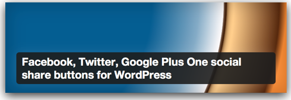 "Banner for a WordPress plugin with ""for WordPress"" in a really long name."