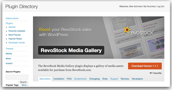 Banner Image for Revostock's Media Gallery Plugin Page on WordPress.org